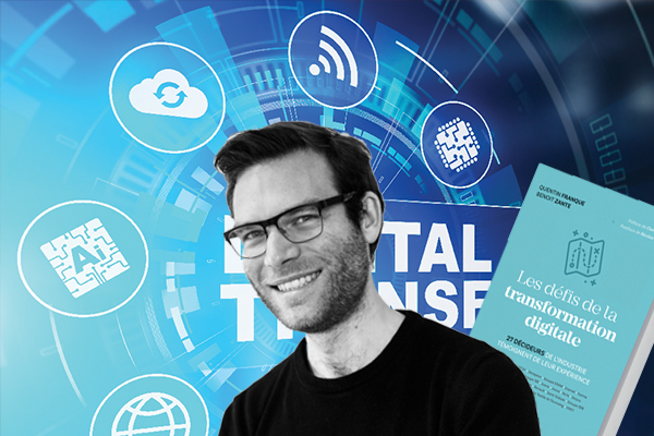 """Benoît Zante (independent journalist) – """"Digital transformation is, first and foremost, a human challenge"""""""