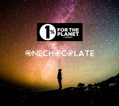 OneChocolate s'engage en faveur de 1% for the Planet