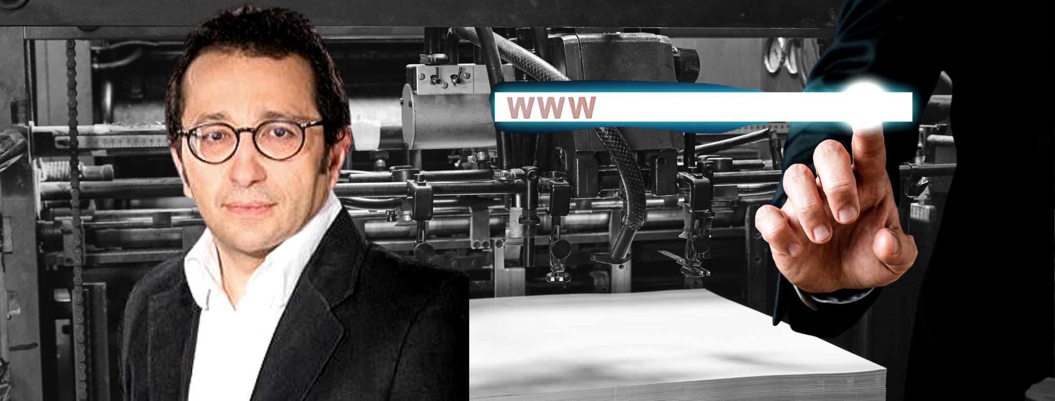 """Serge Leblal (Le Monde Informatique) : """"J'ai toujours trouvé que le papier et le web étaient complémentaires"""""""