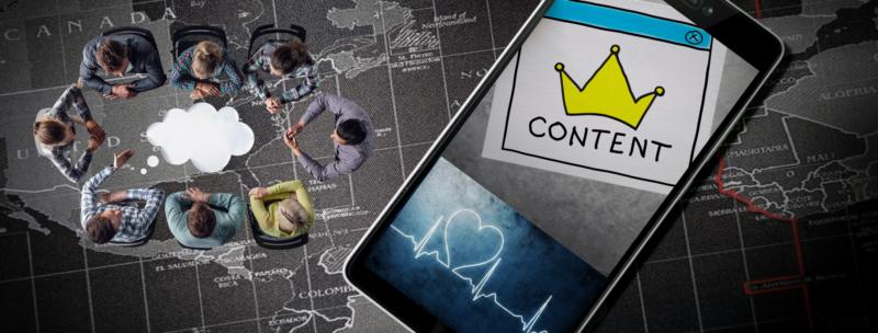 Content marketing Tinder