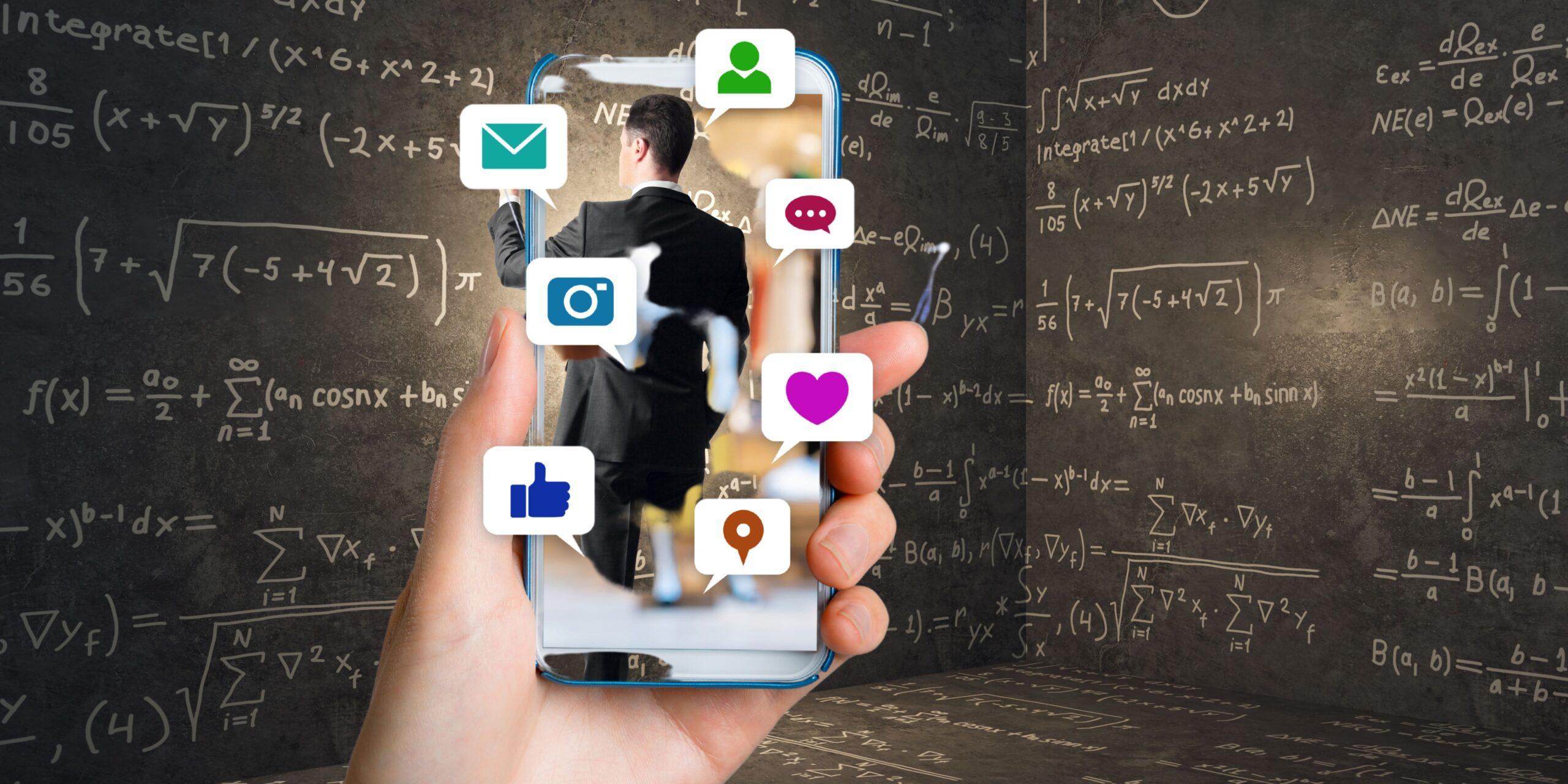 Sur les réseaux sociaux, les algorithmes font la loi !