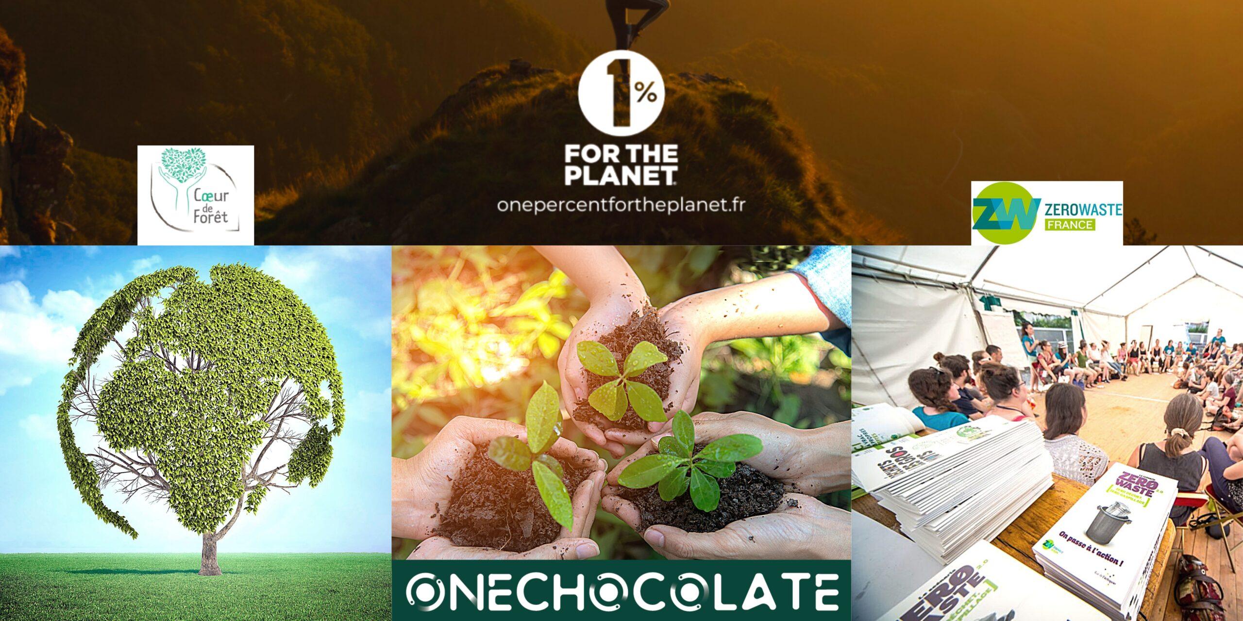 500 arbres et 0 déchet – l'engagement de OneChocolate auprès de « 1% pour la planète » en chiffres !
