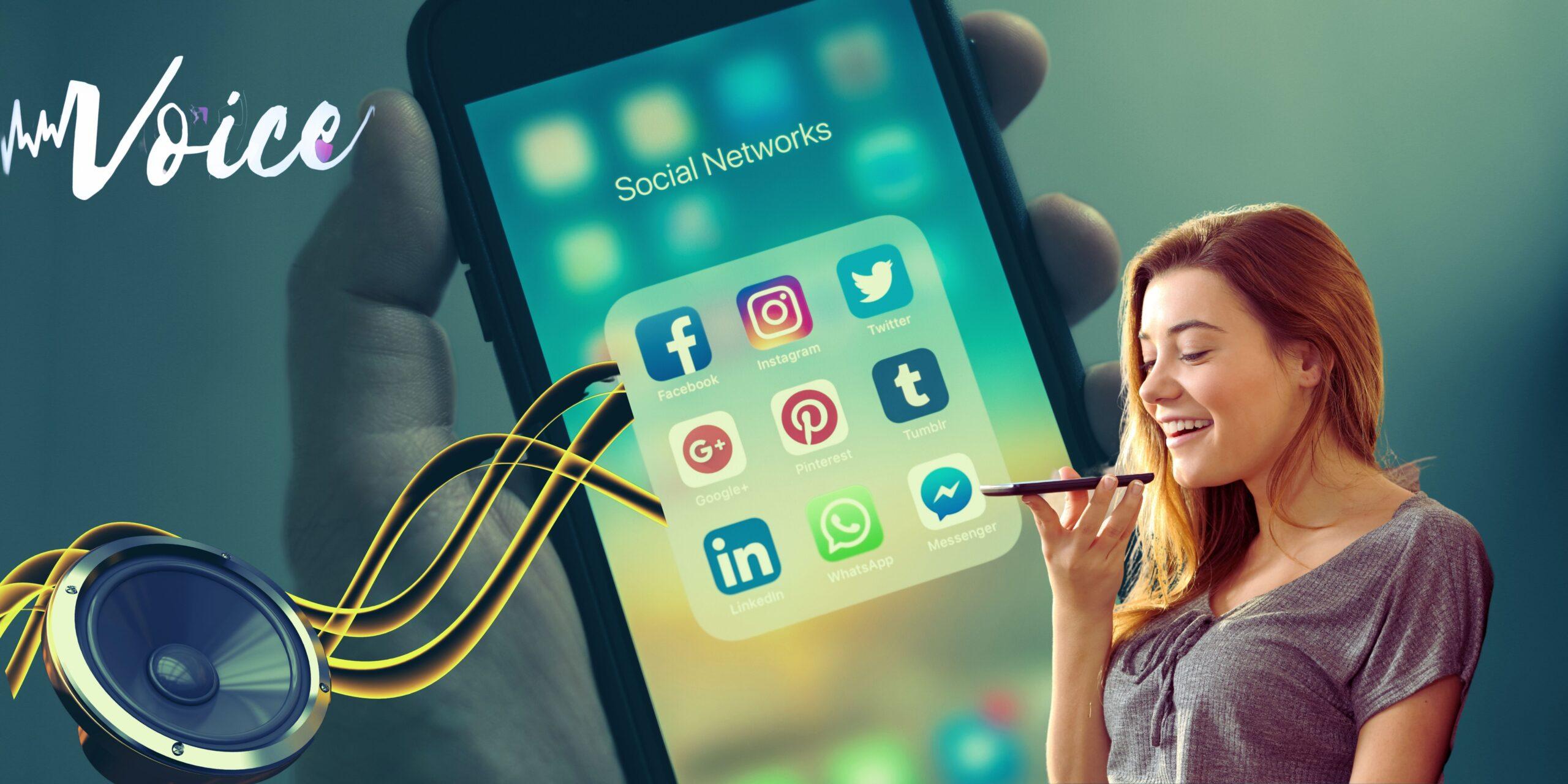 En 2021, les réseaux sociaux choisissent l'audio